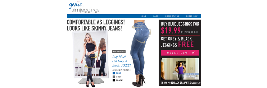Genie Slim Jeggings Reviews 2017