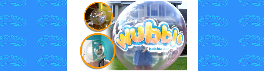 Wubble Bubble Ball website screenshot