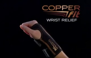 copper fit wrist