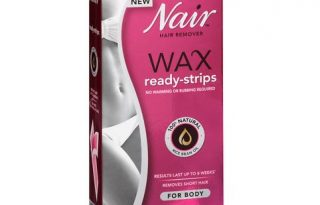 nair wax strips review
