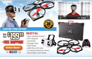 helix sentinel drone review